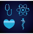 Medical healthcare icons vector image vector image