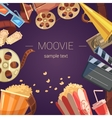 Movie Background vector image vector image