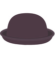 Purple hat vector image vector image