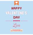 Romantic card18 vector image vector image