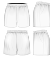 Rugby shorts vector image vector image