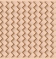texture of beige leather weaving seamless pattern vector image vector image