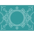 border with line geometric and abstract vector image