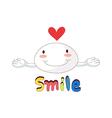 A smile icon vector image vector image