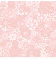 Pastel Flower Texture vector image vector image