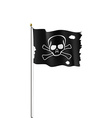 Pirate flag Stock vector image vector image