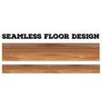 Seamless wooden floor design vector image vector image