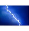 uv lightning flash on blue background vector image vector image