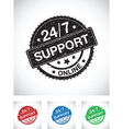 24 hour support vector image