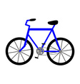 Bicycle Icon Isolated on White Background vector image