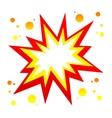 burst icon vector image vector image