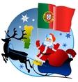 Merry Christmas Nigeria vector image vector image