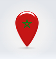 Mooroccan icon point for map vector image vector image