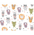 nursery body animals vector image vector image