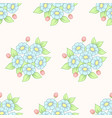 seamless daisy pastel background vector image vector image