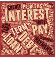 Short Term Debt Problems Take Control text vector image vector image