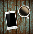Smartphone Stock vector image vector image