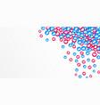 social network media marketing with like thumb up vector image vector image