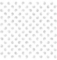 spiral background gray and white seamless pattern vector image vector image