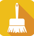 Sweeping Brush Icon vector image vector image