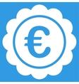 Euro Reward Stamp Icon vector image vector image