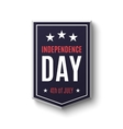 Independence day background 4th of July vector image vector image