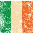 Ireland retro flag vector image vector image