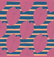 lilac leaves abstract seamless pattern striped