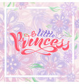 little princess 2 vector image
