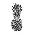 pineapple glyph icon vector image