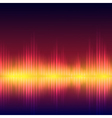 Abstract equalizer background vector image