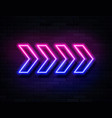 futuristic sci fi modern neon pink and blue vector image vector image