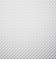 Grey textured cube background vector image