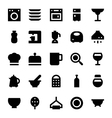 Kitchen Utensils Icons 3 vector image vector image