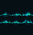 neon city skyline johannesburg cape town abuja vector image vector image