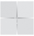 seamless pattern set fo vector image vector image