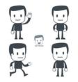 greeting icon man vector image