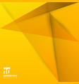 abstract background origami and polygon geometric vector image vector image