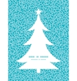 abstract underwater plants Christmas tree vector image vector image