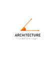 development creative logo architecture vector image vector image