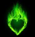 FairHeart Green 01 vector image vector image