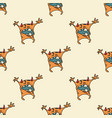 funny monster seamless pattern vector image