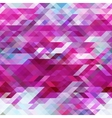geometric triangle abstract violet mosaic vector image vector image