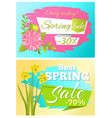 sale 70 off sticker daffodil narcissus bulbous vector image vector image