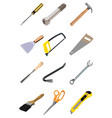 tools supplies vector image