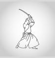 iaido logo icon vector image
