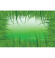 green meadow vector image vector image