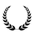 laurel icon vector image vector image