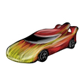 racecar vector image vector image