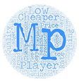 You Can Be An Utter Flop With Cheap Mp Players vector image vector image